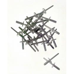 Rivets INOX alu boîte de 200 pièces 4,8/16 C16.