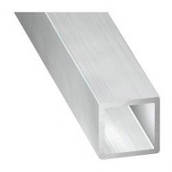 Tube carré en aluminium de 15*15 épaisseur 2mm longueur de 2 mètres.