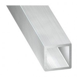 Tube carré aluminium 25*25 2mm .