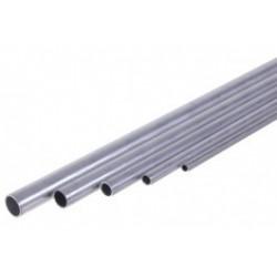 Tube aluminium rond Ø 10mm creux longueur de 1 mètre.