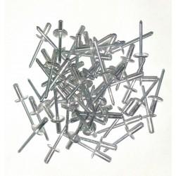 Rivets alu boîte de 250 pièces 4,8/12 C14.