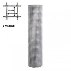 Grillage maille 13*13 fil de 1,05mm. 5 Mètres.