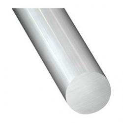Tube aluminium rond Ø 10mm plein longueur de 6 mètres.